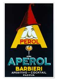 Póster Premium  Aperol Barbieri - Advertising Collection