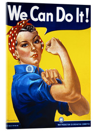 Quadro em acrílico  We Can Do It! - Advertising Collection