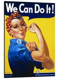 Quadro em alumínio  We Can Do It! - Advertising Collection
