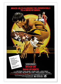 Póster Premium  Game of Death - Entertainment Collection