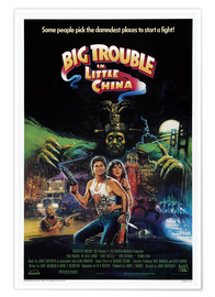 Póster Premium  Big Trouble in Little China - Entertainment Collection