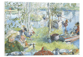 Quadro em PVC  Opening of the crab fishing season - Carl Larsson