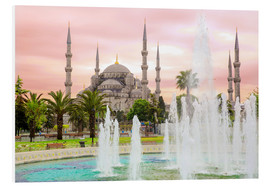 Quadro em PVC  the blue mosque (magi cami) in Istanbul / Turkey (vintage picture) - gn fotografie