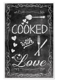 Póster Premium  Cooked with Love - Andrea Haase