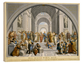 Quadro de madeira  School of Athens (after Raphael) to 1771-79 - Giovanni Volpato