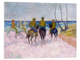 Quadro em PVC  Riders on the beach (I) - Paul Gauguin