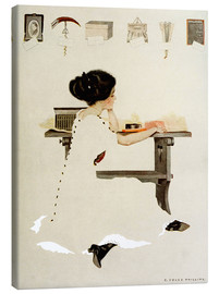 Quadro em tela  Know all men by these presents - Clarence Coles Phillips