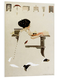 Quadro em PVC  Know all men by these presents - Clarence Coles Phillips