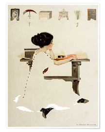 Póster Premium  Know all men by these presents - Clarence Coles Phillips