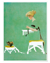 Póster Premium  Home ties - Clarence Coles Phillips