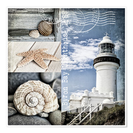 Póster Premium  Byron Bay Lighthouse - Andrea Haase