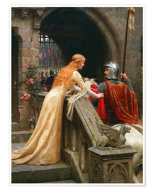 Póster Premium  God Speed - Edmund Blair Leighton