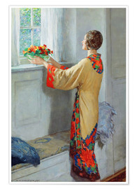 Póster Premium  New day - William Henry Margetson
