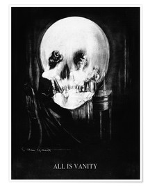 Póster Premium  All is vanity - Charles Allan Gilbert
