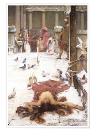 Póster Premium  Saint Eulalia - John William Waterhouse