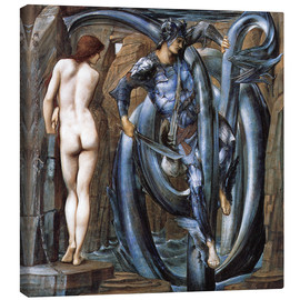 Quadro em tela  The Doom Fulfilled - Edward Burne-Jones