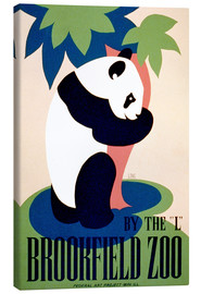 Quadro em tela  Brookfield Zoo - Advertising Collection