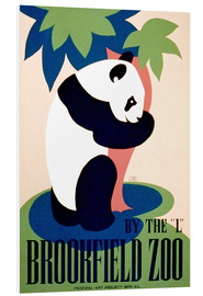 Quadro em PVC  Brookfield Zoo - Advertising Collection