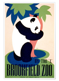 Póster Premium  Brookfield Zoo - Advertising Collection
