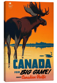 Quadro em tela  Canada travel for big game - Travel Collection