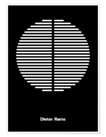 Póster Premium  Dieter Rams - THE USUAL DESIGNERS