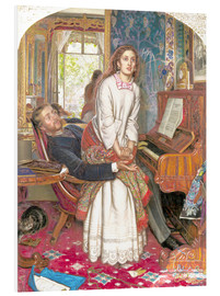 Quadro em PVC  The Awakening Conscience - William Holman Hunt