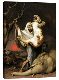 Quadro em tela  Power Of Death - William Holbrook Beard