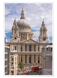 Póster Premium St. Paul's Cathedral, London