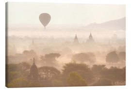 Quadro em tela  Balloon above the Bagan temples - Lee Frost