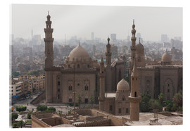 Quadro em acrílico  Mosque of Sultan Hassan in Cairo old town, Cairo, Egypt, North Africa, Africa - Martin Child