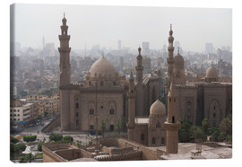Quadro em tela  Mosque of Sultan Hassan in Cairo old town, Cairo, Egypt, North Africa, Africa - Martin Child