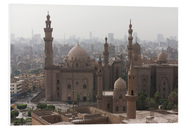Quadro em PVC  Mosque of Sultan Hassan in Cairo old town, Cairo, Egypt, North Africa, Africa - Martin Child