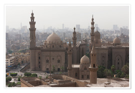 Póster Premium  Mosque of Sultan Hassan in Cairo old town, Cairo, Egypt, North Africa, Africa - Martin Child