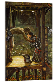 Quadro em PVC  The Merciful Knight - Edward Burne-Jones