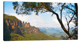 Quadro em tela  Panoramic photo of the Three Sisters - Matthew Williams-Ellis