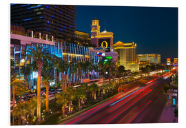 Quadro em PVC  The Strip, Las Vegas, Nevada, United States of America, North America - Alan Copson