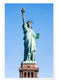Póster Premium  Statue of Liberty in New York USA - Jan Christopher Becke