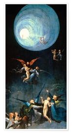 Póster Premium  Ascent of the Blessed - Hieronymus Bosch