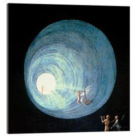 Quadro em acrílico  The Ascent to the Heavenly Paradise (detail) - Hieronymus Bosch