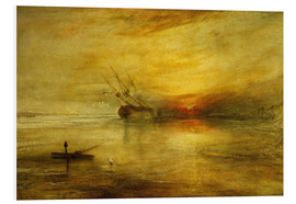 Quadro em PVC  Fort Vimieux - Joseph Mallord William Turner