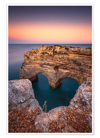 Póster Premium  Heart of the Algarve (Praia da Marinha / Portugal) - Dirk Wiemer