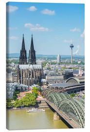 Quadro em tela  Cologne Cathedral (Cathedral of St. Peter) - rclassen