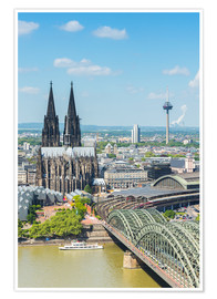 Póster Premium  Cologne Cathedral (Cathedral of St. Peter) - rclassen