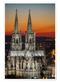 Póster Premium  cathedral of cologne - rclassen