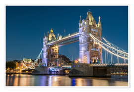 Póster Premium  Tower Bridge, London - Markus Ulrich