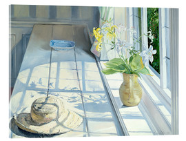 Quadro em acrílico  Still life in front of the window - Timothy Easton