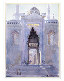 Póster Premium  Gateway to The Blue Mosque - Lucy Willis