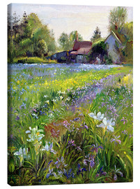 Quadro em tela  Cottage in the country - Timothy Easton