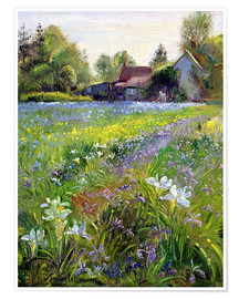 Póster Premium  Cottage in the country - Timothy Easton