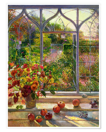 Póster Premium  Vista de outono - Timothy Easton